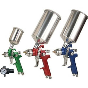 Triple Set Up Hvlp Spray Gun Kit 19221