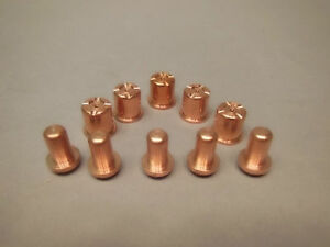 5 Electrodes Nozzle Fits Eastwood Versa Cut Plasma Cutter 40 Amp Free Shipping