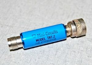 Mini circuits Tat 2 Attenuator 50 Dc To 1500mhz 2db Lot Of 4