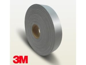 3m High Visibility Reflective Fabric Sew On Tape 100m 2 5cm