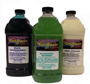 Margarita Slush Granita Frozen Drink Machine Mix Free Shipping 3 Bottles