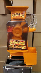Zumoval Minimatic Automatic Commercial Citrus Juicer demo Model