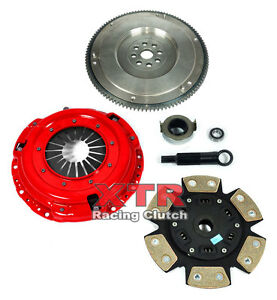 Xtr 6 Puck Ceramic Race Clutch Kit Hd Flywheel For 1994 2001 Acura Integra B18
