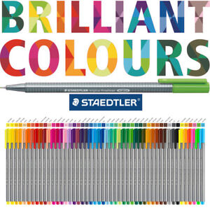 Staedtler Triplus Fineliner Pen Now Available In 60 Brilliant Colours