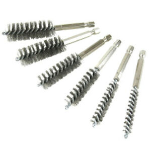Innovative Products Of America 8080 6 Pc Stainless Steel Bore Brush Set