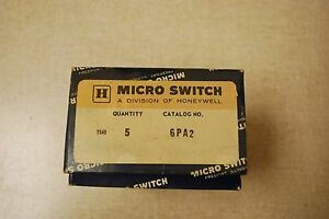 New Micro Switch 6pa2 Roller Arm Limit Switch Actuator