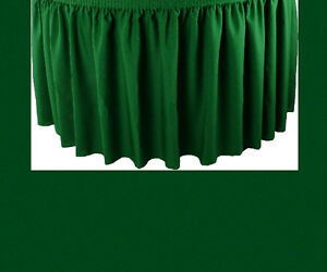 21 Hunter Premium Flame Retardant Table Skirts Fire Resistant Table Skirting