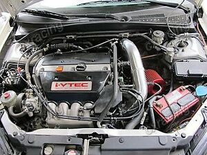 Cold Air Intake Kit For 01 06 Civic Integra Dc5 Rsx K20 Long Tube Design Bk Hose