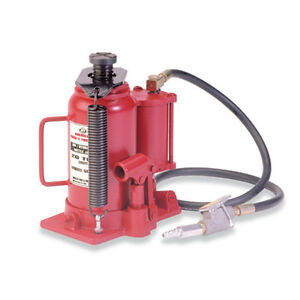 American Forge Foundry 5520b 20 Ton Air Hydraulic Bottle Jack