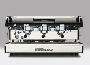 Nuova Simonelli Aurelia Ii Semi automatic 3 Group Espresso Machine
