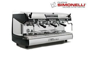 Nuova Simonelli Aurelia Ii Volumetric 3 Group Espresso Machine