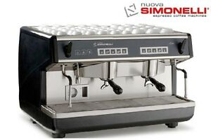 Nuova Simonelli Appia Volumetric 2 Group With Espresso Machine