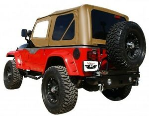 Rampage Factory Replacement Soft Top 97 06 Jeep Wrangler Tj 912917 Diamond Spice