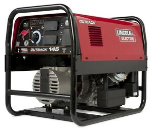 Lincoln Outback 145 Welder Generator New K2707 2
