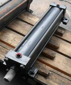 Parker 2h Hydraulic Cylinder 06 00 cc2h 4c 30 000 Fixed Mount Stroke 30