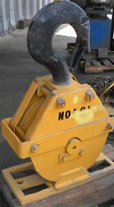 Grosly10 Ton Crane Hook Block 1 Wire Cable 6 11 16 Ctoc 19 dia