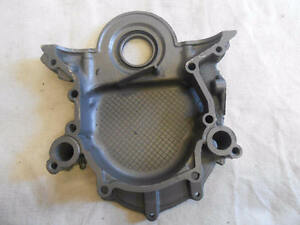 1968 1973 Mustang 302 V 8 Small Block Timing Chain Cover D30e 60594 Aa