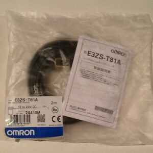 Omron Photoelectric Switch E3zs t81a New Free Ship