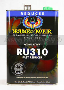House Of Kolor Ru310 Kosmic Kolor Fast Dry Reducer 1 Gallon
