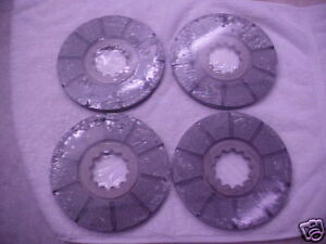 4 Farmall Brake Disc M super M w 6 wd 6 400 450 Brakes Tractor