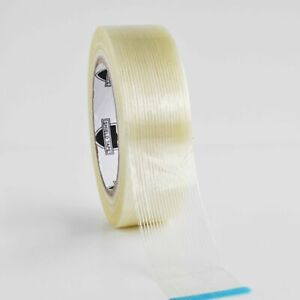 Filament Strapping 3 9 Mil 1 1 2 X 60 Yds Reinforced Packing Tapes 48 Rolls