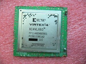 Qty 1x Xilinx Virtex 4 Xc4vlx60 Ff1148dnq Ic On Pcb