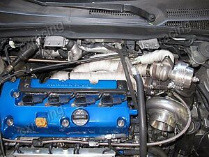Cxracing Gt35 Turbo Kit Thick Manifold Downpipe For Civic Integra Dc5 Rsx K20