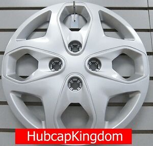 New 2011 2012 2013 Ford Fiesta 15 Wheelcover Hubcap Silver