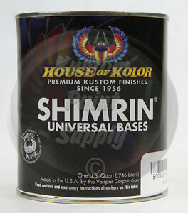 House Of Kolor Bc09 Planet Green Shimrin Glamour Metallic Basecoat 1 Quart