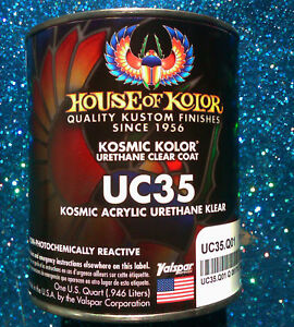 House Of Kolor Uc35 Kosmic Kolor Urethane Adhesion Clear Coat 1 Quart