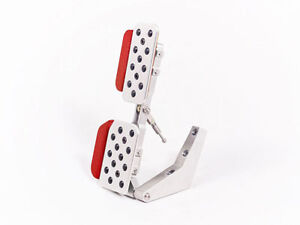 Rennline 996 986 Adjustable Gas Pedal Rev 3 Red Extensions