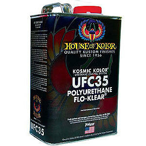 House Of Kolor Ufc35 Flo Klear Kosmic Kolor Urethane 1 Gallon