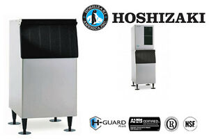 Hoshizaki Ice Storage Bin 300 Lbs Capacity 22 Wide Galvanized Steel