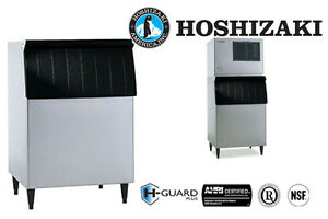 Hoshizaki Ice Storage Bin 500 Lbs Capacity 30 Inch Wide Galvanized Steel