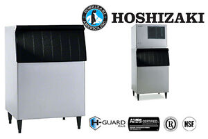 Hoshizaki Ice Storage Bin 500 Lbs Capacity 30 Wide Galvanized Steel