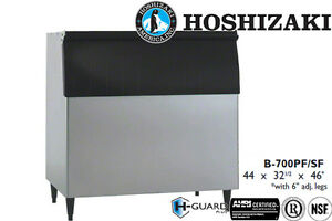 Hoshizaki Ice Storage Bin 700 Lbs Capacity 44 Wide Galvanized Steel