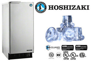 Hoshizaki Commercial Ice Machine Self contained Top Hat Cuber Built in Sto Bin