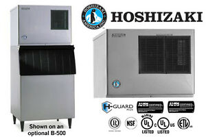 Hoshizaki Comercial Ice Machine Low Profile Module Self contained Crescent Cuber