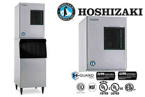 Hoshizaki Commercial Ice Machine Crescent Cuber Water cooled Condenser Km 320mwh