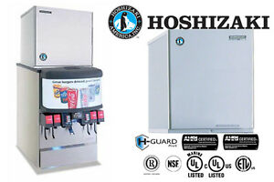Hoshizaki Commercial Ice Machine Crescent Cuber Stainless Steel Module Watercool