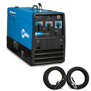 Miller Bobcat 250 Diesel Welder generator With Leads Bundle 907565