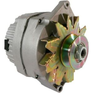 New Alternator Tractor 1 Wire 63 Amp 10si W Pulley For 5 8 Inch Wide Belt