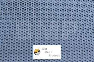 304 Stainess Steel Perforated Sheet 040 X 12 X 24 1 8 Holes 0600102