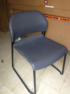 Hon 4030 Guest Stacking Chairs Office Commercial Plastic Metal Muscatine
