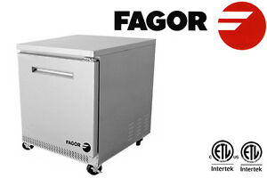 Fagor Commercial Restaurant 27 Under Counter Refrigerator Fur 27