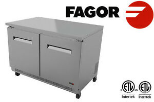 Fagor Commercial Restaurant 48 Under Counter Refrigerator Fur 48