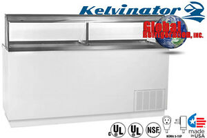 Global Refrigeration kelvinator Ice Cream Dipping Cabinet W