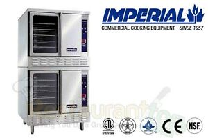 Imperial Commercial Convection Oven Standard Depth Natural Gas Model Icv 2