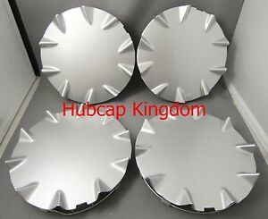 2003 2006 Chevrolet Ssr Silver Wheel Hub Center Caps New Set 19 Front 20 Rear