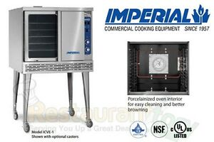 Imperial Commercial Convection Oven Single Deck Standard Electric Model Icve 1